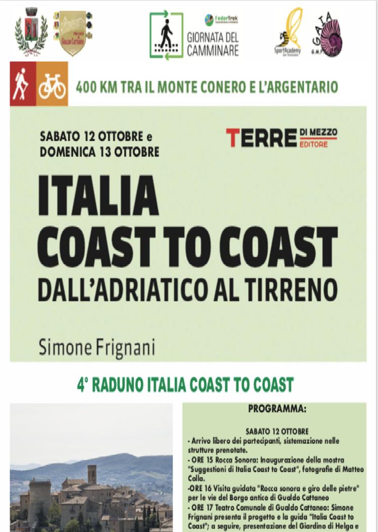 4^ Raduno Italia Coast to Coast